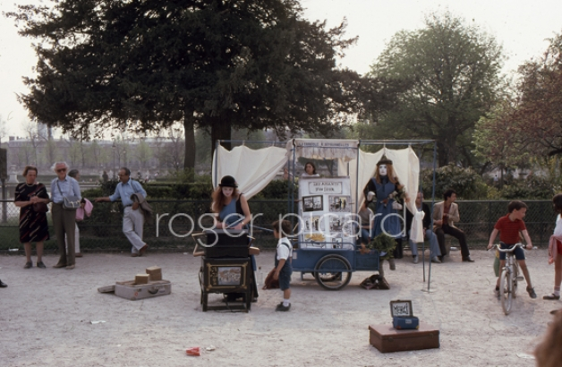 Paris roger picard for Kiosque jardin des tuileries